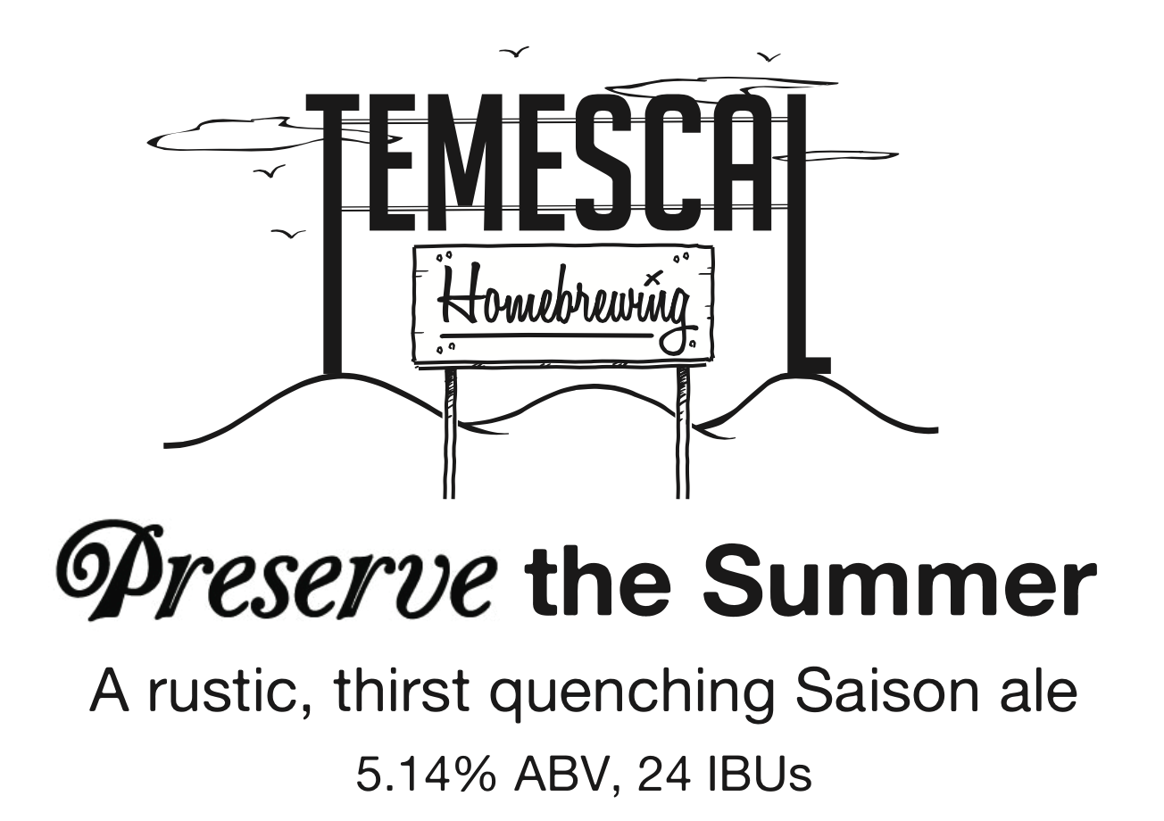 Preserve-the-Summer-Saison-label